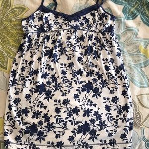 Blu Chic Flowered Top